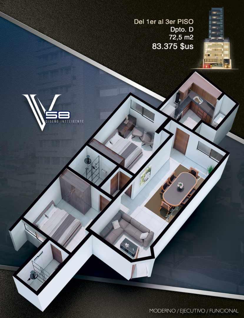 Departamento en Venta Av. Velarde #58 Foto 8