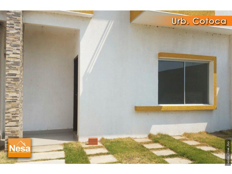 Casa en Venta EN VENTA CASA A ESTRENAR EN LA URB. COTOCA Foto 3