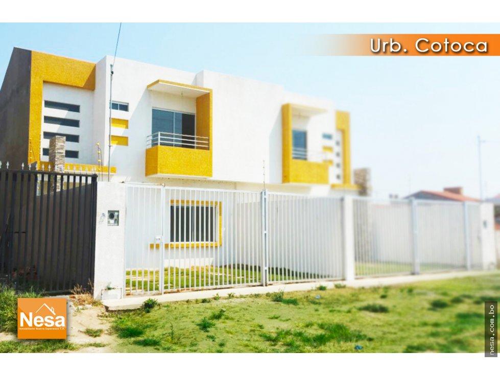 Casa en Venta EN VENTA CASA A ESTRENAR EN LA URB. COTOCA Foto 8