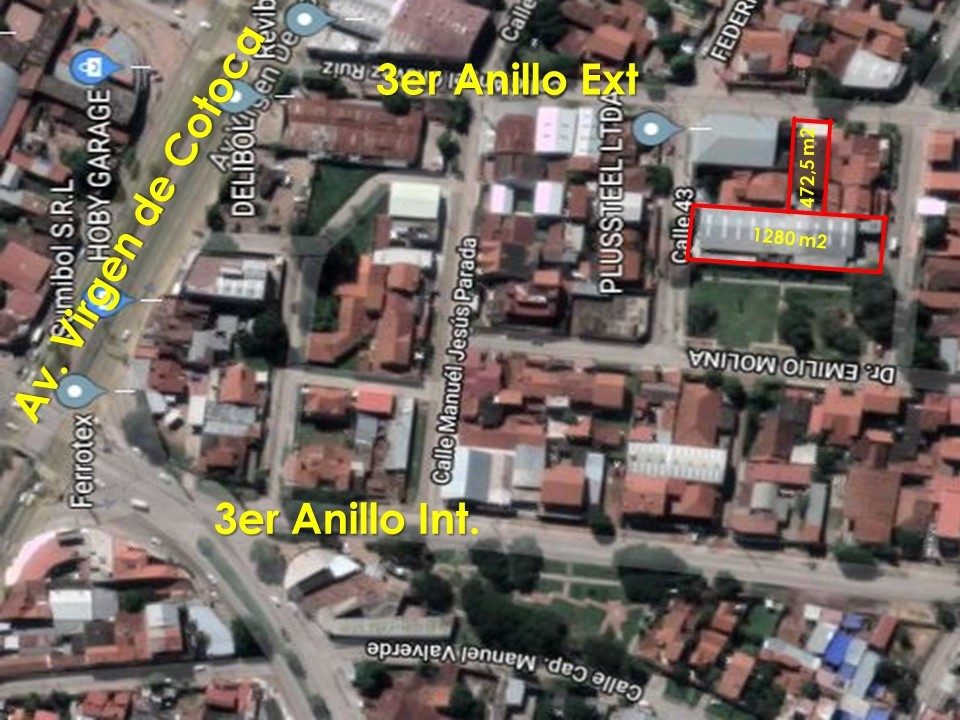 Galpón en Venta 3er ANILLO EXT. ENTRE VIRGEN DE COTOCA Y BRASIL Foto 5