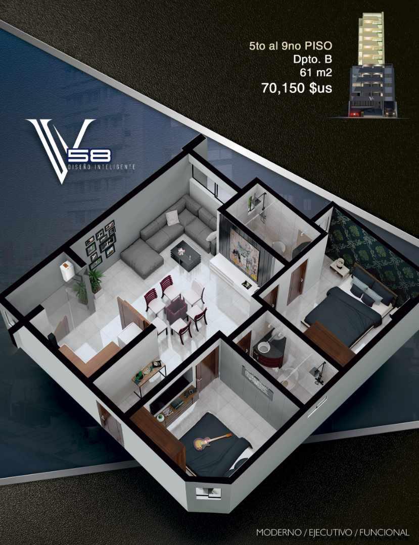 Departamento en Venta Av. Velarde #58 Foto 10
