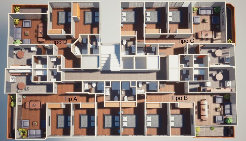 Departamento en Venta Avenida José Aguirre Achá, casi esquina Calle 28 Foto 4