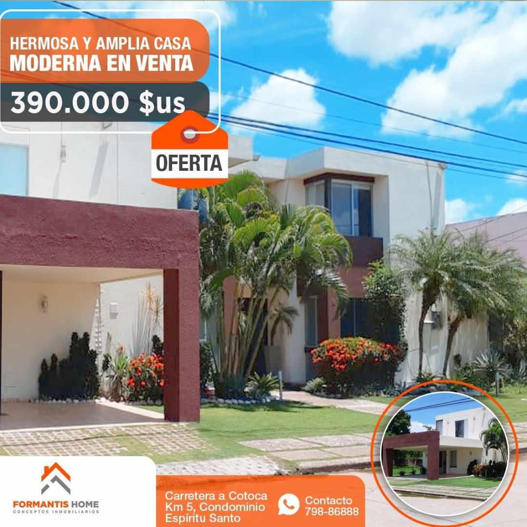 Casa en Venta HERMOSA CASA EN VENTA DE OCASION, CARRETERA A COTOCA KM. 5 CONDOMINIO ESPIRITU SANTO Foto 5