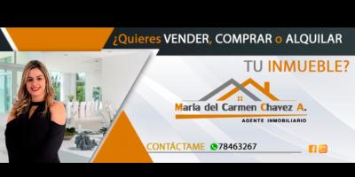 Maria del Carmen Chavez Añez - agente portada
