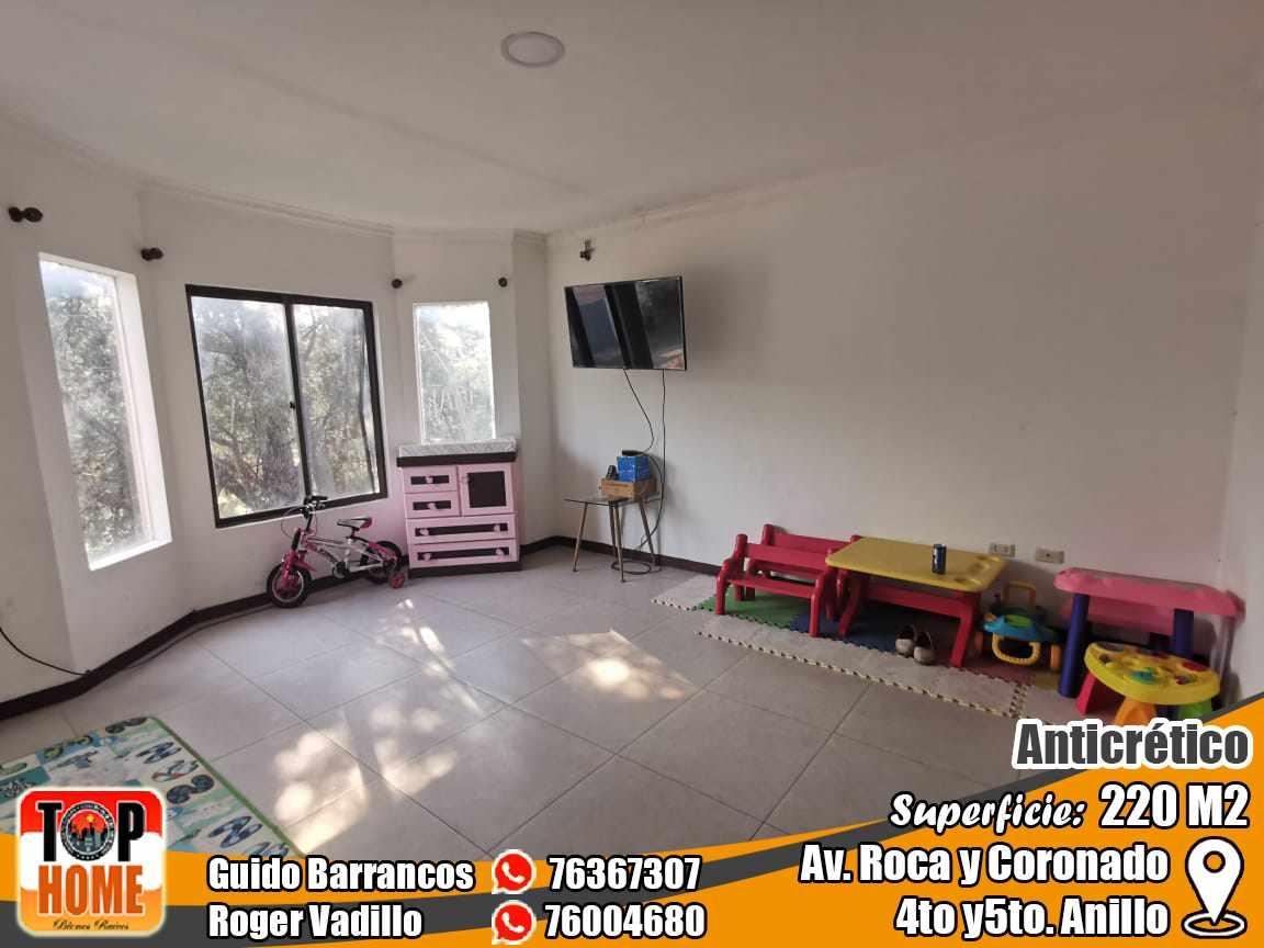 Departamento en Anticretico 4TO Y 5TO ANILLO ROCA Y CORONADO. Foto 8