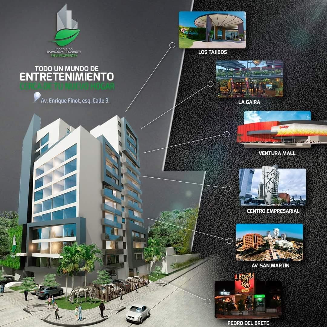 Departamento en Venta ? Equipetrol, frente Hotel Los Tajibos (centro empresarial) Foto 5
