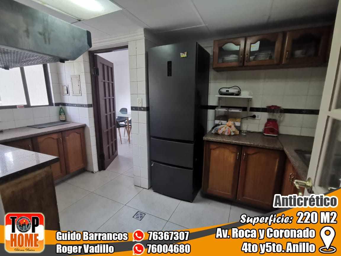 Departamento en Anticretico 4TO Y 5TO ANILLO ROCA Y CORONADO. Foto 4