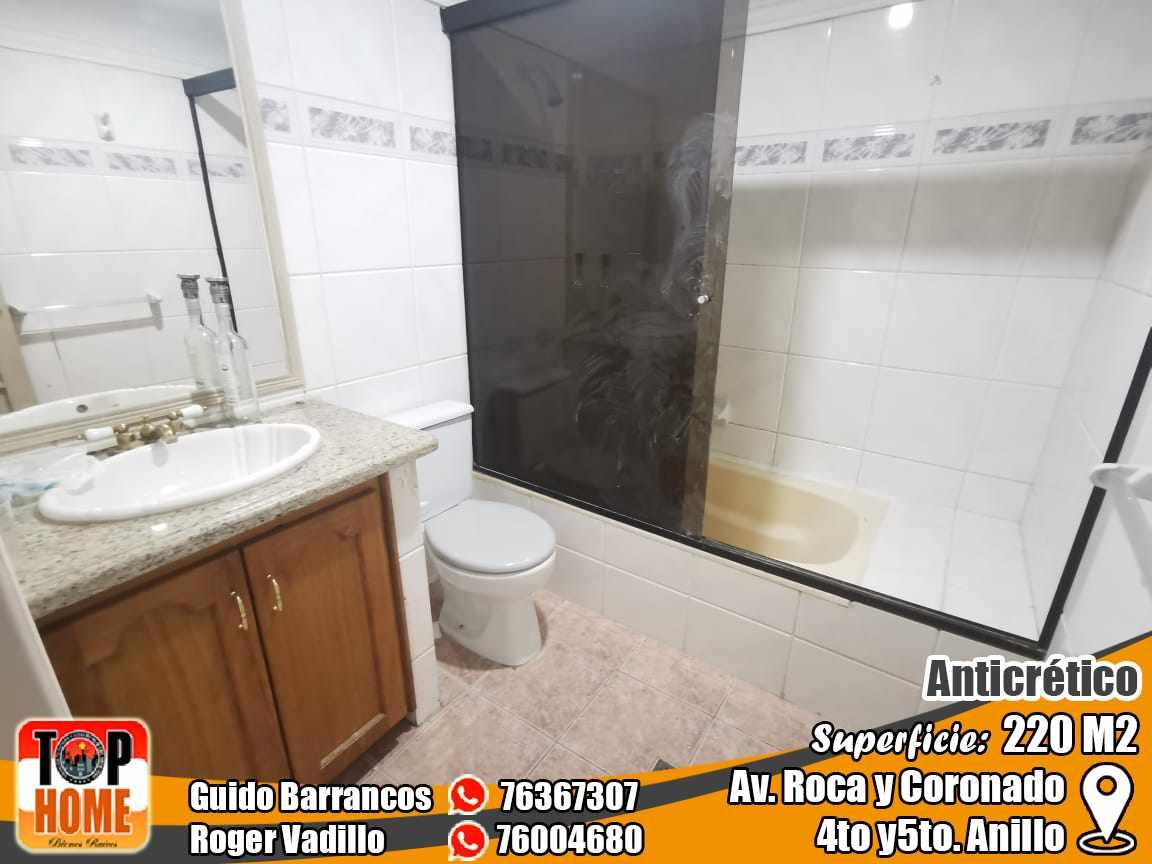 Departamento en Anticretico 4TO Y 5TO ANILLO ROCA Y CORONADO. Foto 9