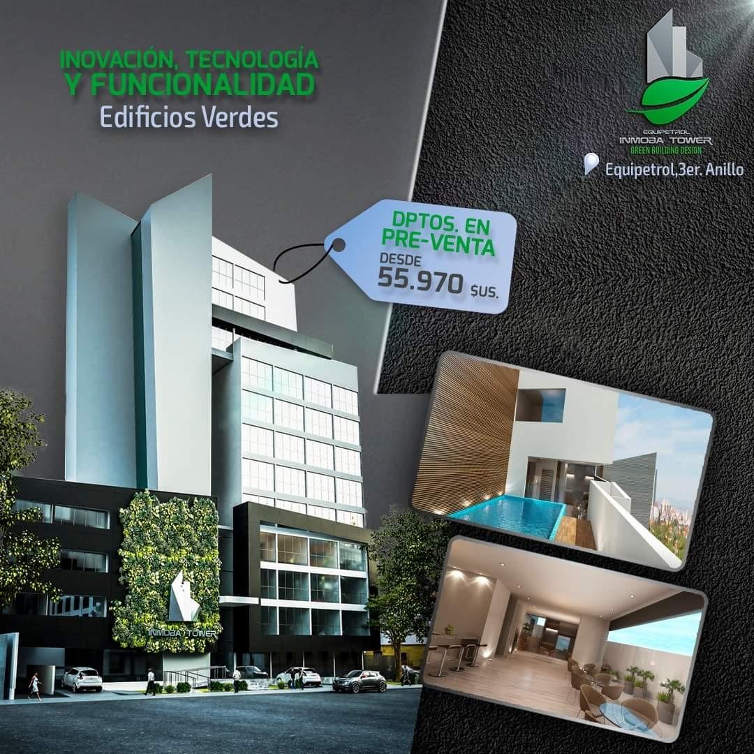 Departamento en Venta ? Equipetrol, frente Hotel Los Tajibos (centro empresarial) Foto 12