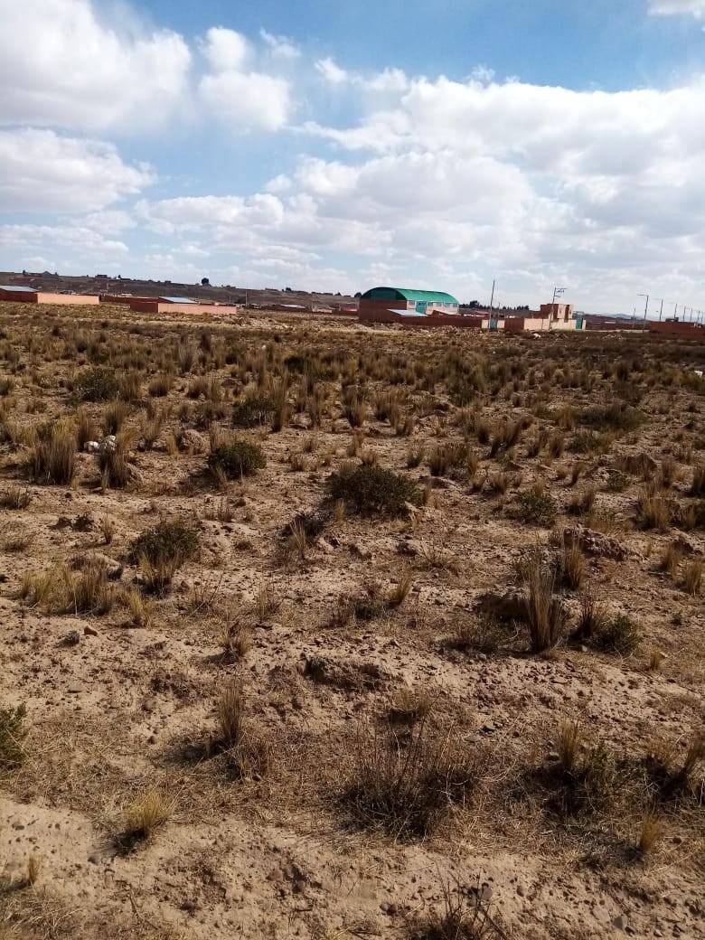 Terreno en Venta El Alto, Zona Ventilla, Urbanización Los Rosales Foto 2